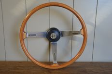 Hellebore - Alfa Romeo wooden steering wheel 40 cm diameter, for a classic car
