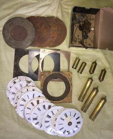 Clock accessories and components