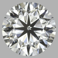 Round Brilliant  1.01ct   D IF   IGI- original image -10x #18102