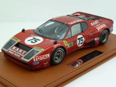 BBR - Scale 1/18 - Ferrari 365 GT4 BB 24h Le Mans 1977 North American Racing Team - LImited Edition 13 pcs