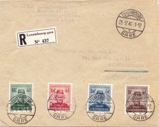 Luxembourg 1946 - FD letter - Caritas 1946