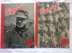 Signaal; Lot with 33 issue numbers, including Leon Degrelle - 1940/1944