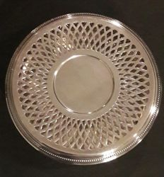 Christofle collection Gallia plate warmer- Paris/France-second half 20th century