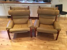 Arne Norell  - INCA lounge chair ( 2x )