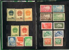 China - 42 stamp sets