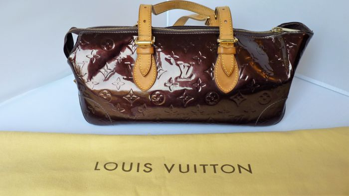 Louis Vuitton Rosewood Avenue Handbag Monogram Vernis Catawiki