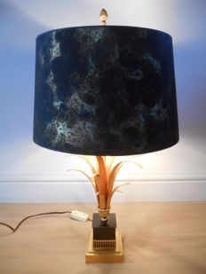 Boulanger Reed – Hollywood Regency style table lamp