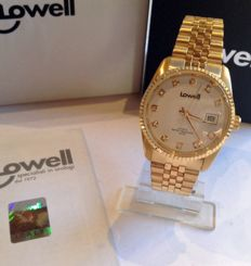 DAY DATE Lowell -- Rolled 18 kt gold and Swarovski -- Unisex -- New