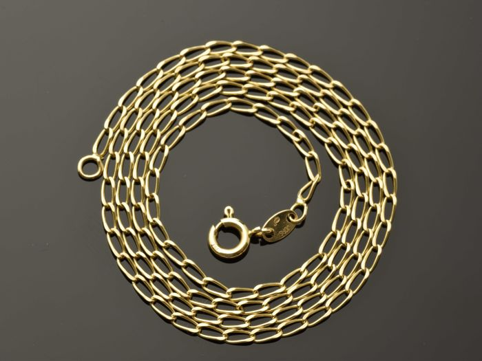 Necklace in 18 kt gold Length: 46.5 cm ***No reserve price***