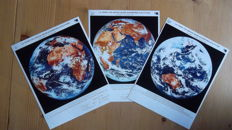 The Earth from three sides