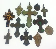 Collection of crosses of the XVI-XIX centuries (11)