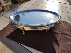 huge dish warmer of 1880 two points of heating Pavilion Christofle