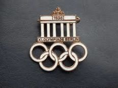 Rare pin from the 1936 Berlin Olympic Games
