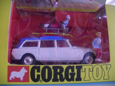 Corgi Toys - Scale 1/43 - Citroen Safari Winter Olympics 1968 No.499