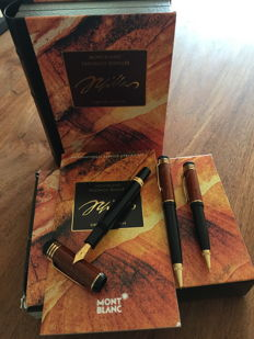 MONTBLANC Limited Edition, Friedrich Schiller 3 piece set.