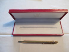Cartier gold plated ballpoint pen