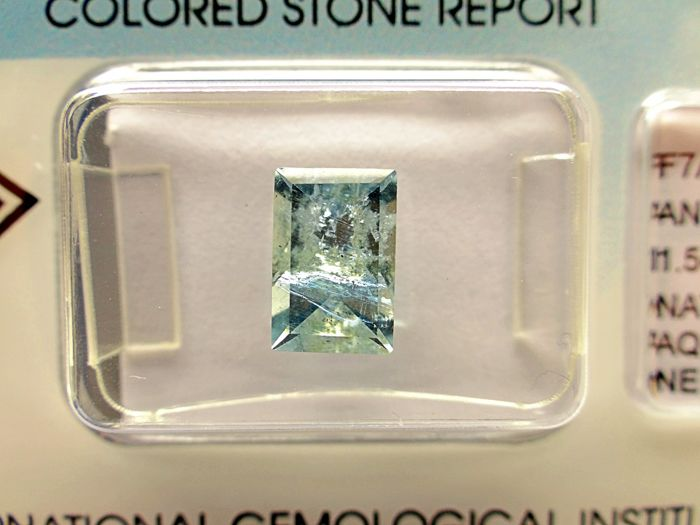 Aquamarine - 1,54 ct - no limit price