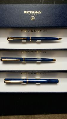 2 x ball pen and 1 x fountain pen from Waterman in box