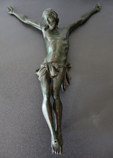 Christ carved in light wood - France - 19th century