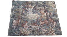 vintage  pictorial tapestry , second half of the 20th century, France  116 cm x 143 cm,