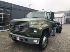 Ford F800 1996 5.9 Cummins Diesel ex ladder truck US Army