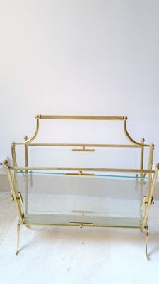 attributed to the Maison Baguès - Magazine rack