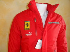 Ferrari - Official Product Jacket - Shell Historic Challenge - by Puma - *** NO RESERVE PRICE ***