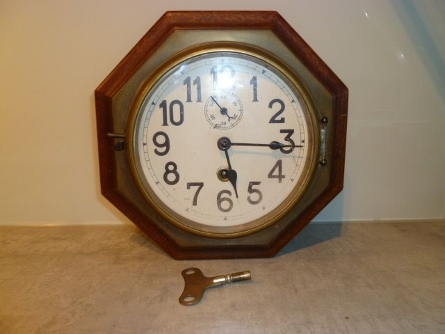 English wall (school) clock - 1920/30