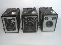 3x Kodak Six-20 model C.