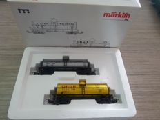 Märklin H0 - 4861 - 2-piece tanker wagon set of the Alaska Railroad