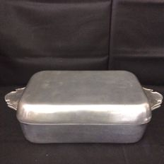 Pure Tin tray with lid, Branded by Forbes