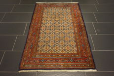 Beautiful Persian carpet, Moud Mut runner 100 x 160 cm, made in Iran, end of the 20th century