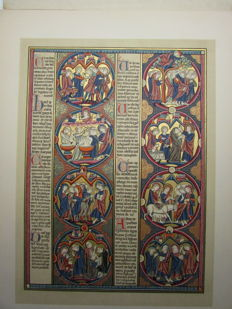 George F. Warner - Illuminated Manuscripts in the British Museum. Miniatures, borders, and initials reproduced in gold and colours - Third series - 1901