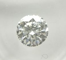 0.68 ct Round cut diamond E SI2    -No Reserve