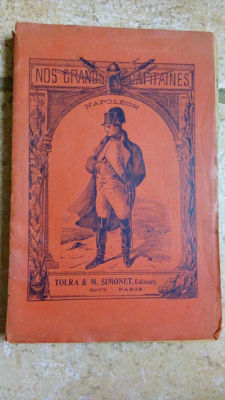 Set of six books over Napoleon Bonaparte - 1933/1968