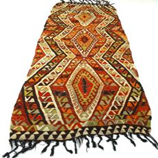 Turkish Kilim - 298 x 127 cm