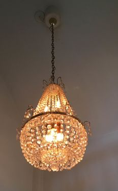 crystal chandelier, second half of 20th century
