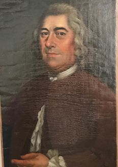 18th century French school - Portrait d'homme en buste