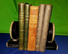 Religion; Lot with 5 books on religion - 1837 / 1860