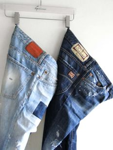 Set of 2x Dsquared2 - Italian jeans