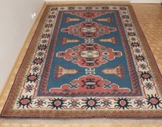 Wonderful kazak hand knotted old rug 171x250 cm Top quality