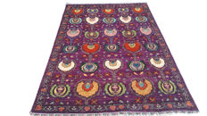 New Style New Afghan Chobi Oriental Hand Woven Carpet Area Rug 266 cm x 182 cm