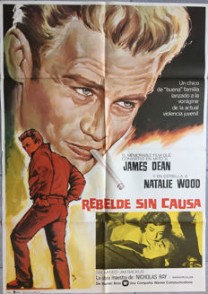 Anonymous - La Fureur de vivre / Rebel without a cause (James Dean) - 1975