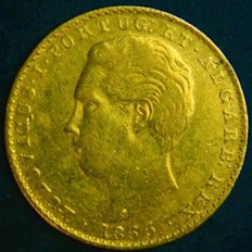 Portugal – Monarchy – D. Luís I – 2,000 Réis 1865 – Gold
