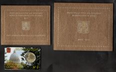 Vatican - Case 2011 + 2 Euro 2011 + Coincard 2011 (3 pieces)
