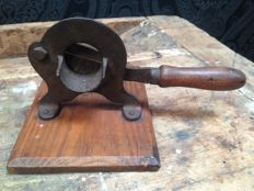 Antique German tobacco cutter - early 1900.