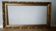 Very nice gold plated picture frame