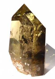 Magnificent tip of citrine - 10.2 x 7 x 4.9 cm - 527 g
