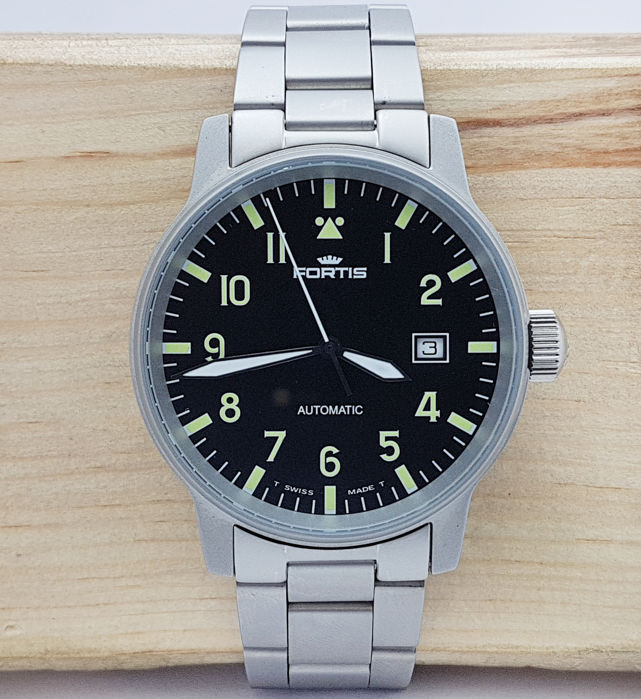 Fortis - FLIEGER PILOT PROFESSIONAL AUTOMATIC WATCH - Men - 1980-1989