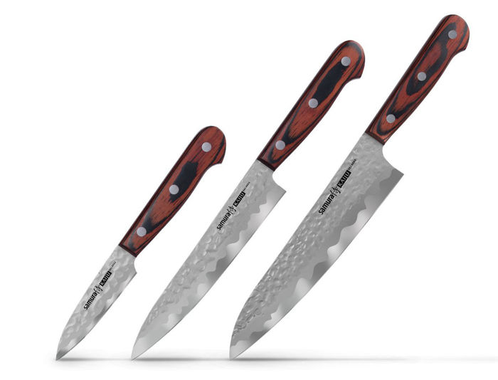 Japanese KAIJU Kitchen Knife Set Of 3 Knives